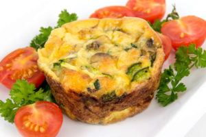 egg quiche cup