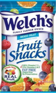fruit snacks organic food
