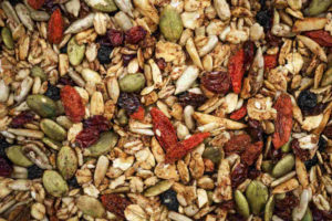 organic trail mix food
