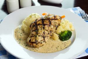 leptin chicken breast mashed cauliflower
