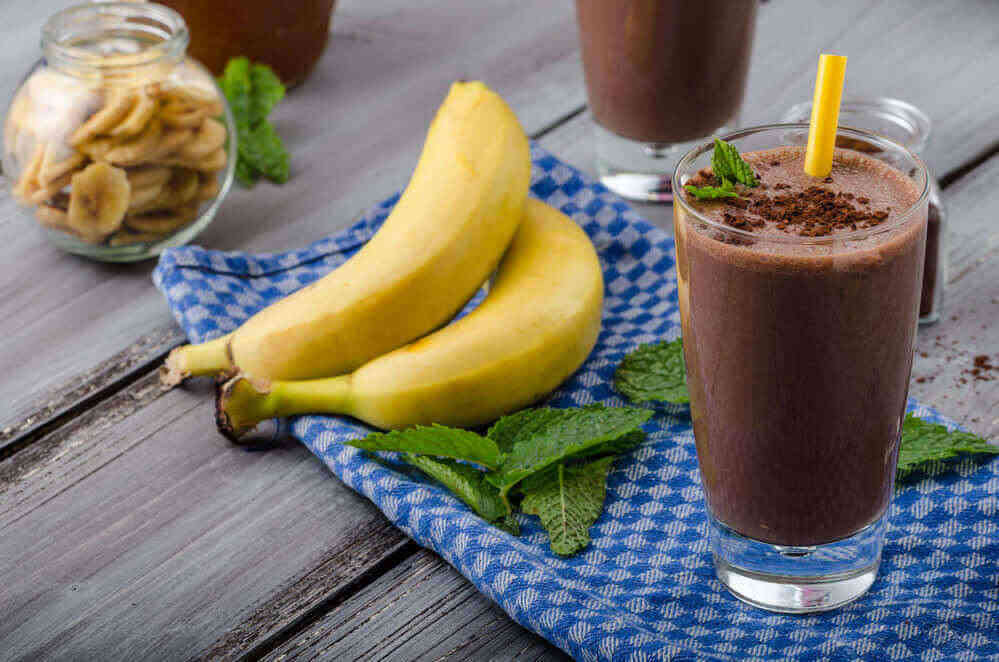 Chocolate Covered Spinach Smoothie