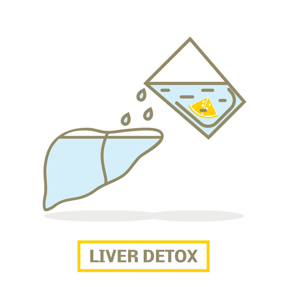 liver detox with kombucha